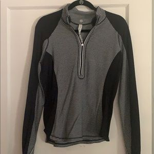 Striped lulu lemon pullover